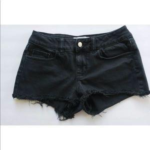 PINK Victoria's Secret shorts faded black 2
